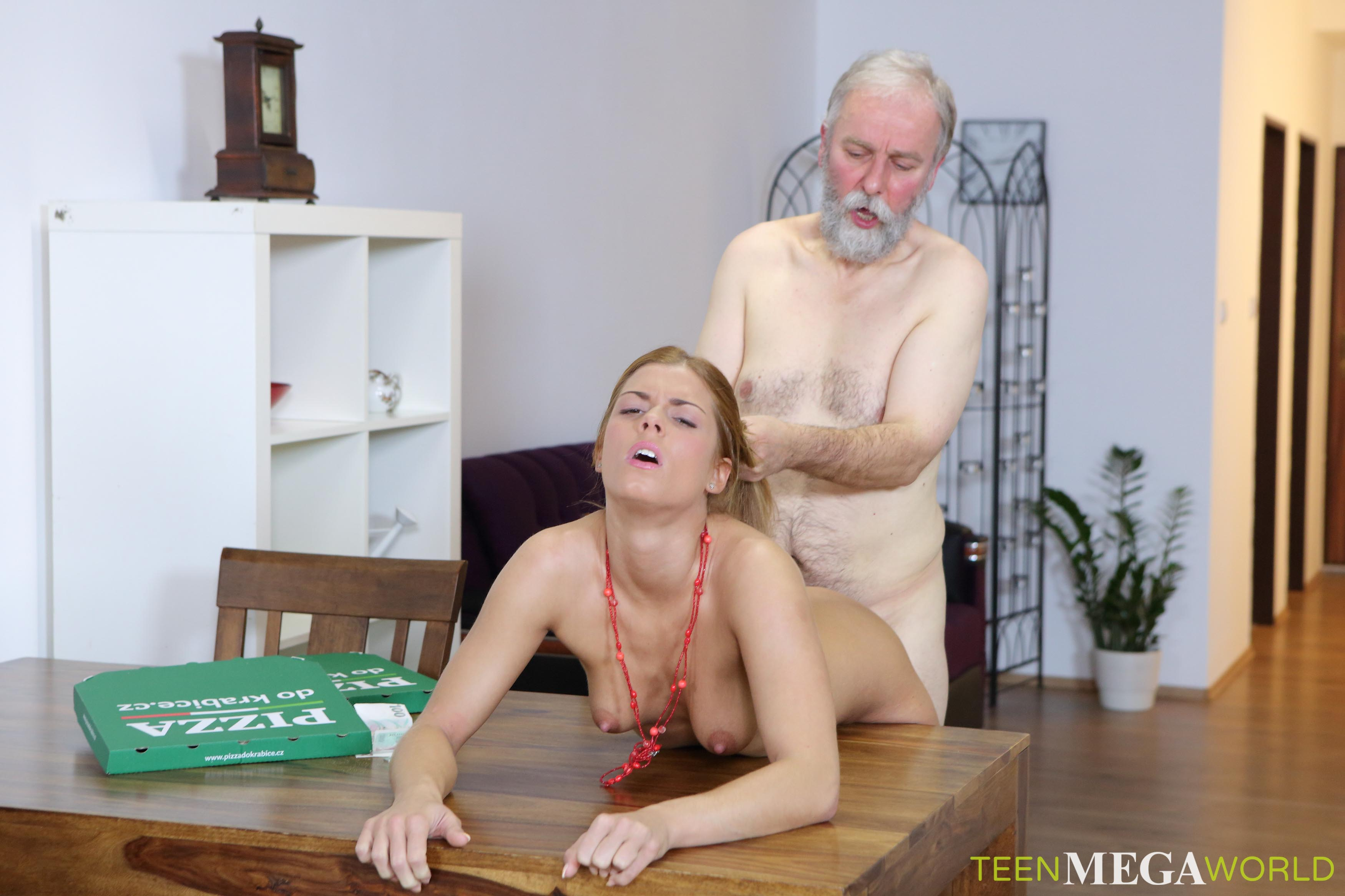 Old Man Porn Film chrissy fox in old-n-young old man pays a hot delivery girl