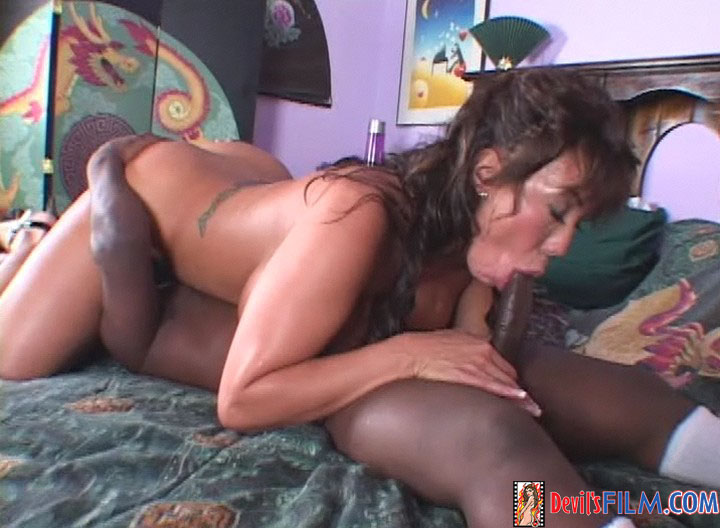 Interracial Anal Gang Bang