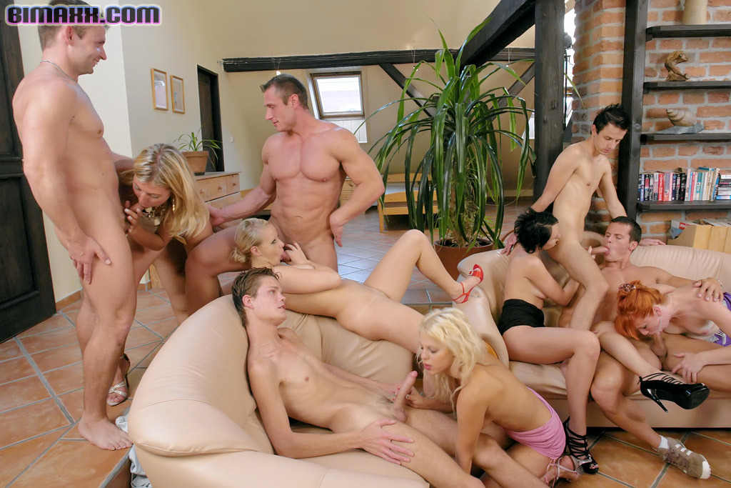 Bisexual orgy video tube — pic 1