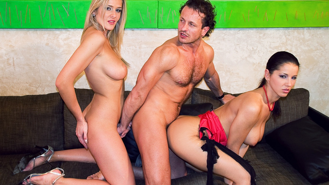 Lexi Belle Anal Threesome